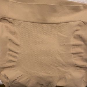 Barely There long shape wear shorts/pants under garments